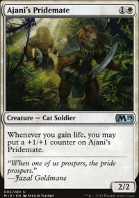 Ajani's Pridemate - Magic 2019