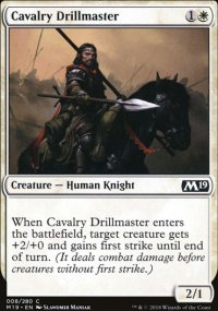 Cavalry Drillmaster - Magic 2019
