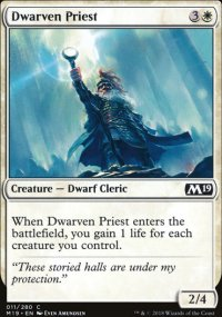 Dwarven Priest - Magic 2019