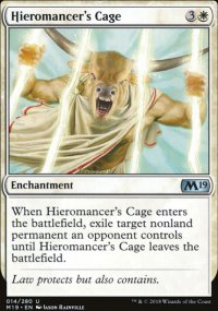 Hieromancer's Cage - Magic 2019