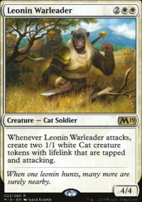 Leonin Warleader - Magic 2019