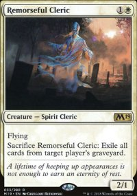 Remorseful Cleric - Magic 2019