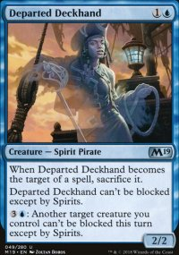 Departed Deckhand - Magic 2019
