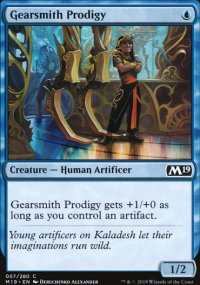 Gearsmith Prodigy - Magic 2019