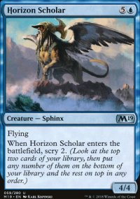 Horizon Scholar - Magic 2019