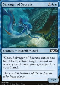 Salvager of Secrets - Magic 2019
