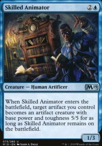 Skilled Animator - Magic 2019