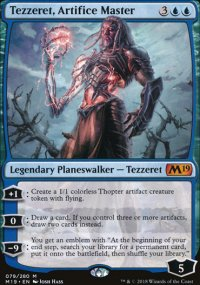 Tezzeret, Artifice Master - Magic 2019
