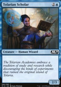 Tolarian Scholar - Magic 2019