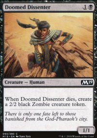Doomed Dissenter - Magic 2019