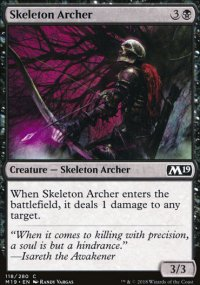 Skeleton Archer - Magic 2019