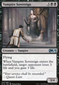 Vampire Sovereign - Magic 2019