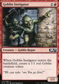 Goblin Instigator - Magic 2019