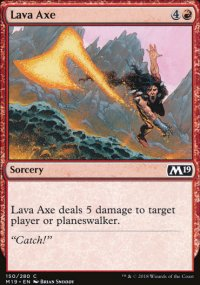 Lava Axe - Magic 2019