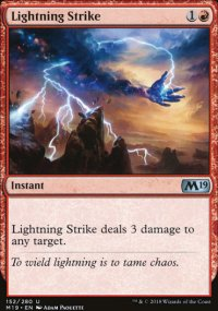 Lightning Strike - Magic 2019