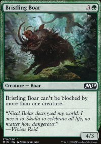 Bristling Boar - Magic 2019