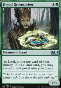 Dryad Greenseeker - Magic 2019