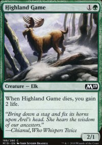 Highland Game - Magic 2019