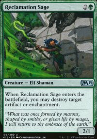 Reclamation Sage - Magic 2019