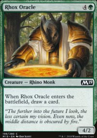 Rhox Oracle - Magic 2019