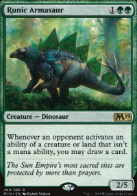 Runic Armasaur - Magic 2019