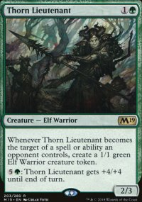 Thorn Lieutenant - Magic 2019