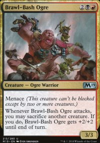 Brawl-Bash Ogre - Magic 2019