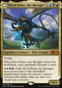 Nicol Bolas, the Ravager - Magic 2019