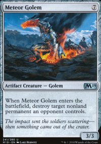 Meteor Golem - Magic 2019