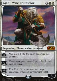Ajani, Wise Counselor - Magic 2019