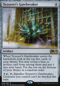 Tezzeret's Gatebreaker -