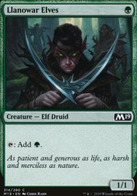 Llanowar Elves - Magic 2019