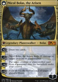Nicol Bolas, the Arisen - Magic 2019