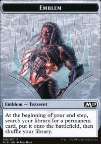 Emblem Tezzeret, Artifice Master - Magic 2019