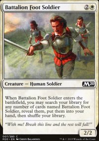 Battalion Foot Soldier - Core Set 2020