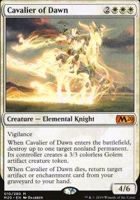 Cavalier of Dawn - Core Set 2020