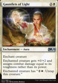 Gauntlets of Light - Core Set 2020