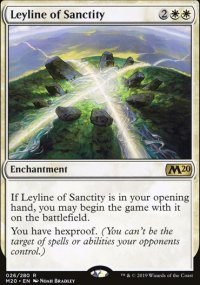 Leyline of Sanctity - Core Set 2020