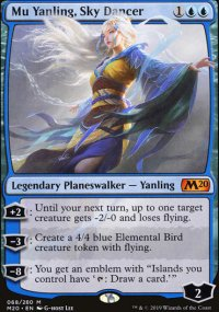Mu Yanling, Sky Dancer - Core Set 2020