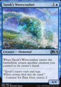 Yarok's Wavecrasher - Core Set 2020