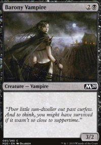 Barony Vampire -