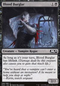 Blood Burglar - Core Set 2020