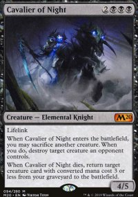 Cavalier of Night - Core Set 2020