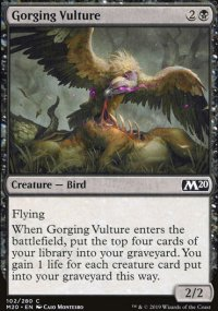 Gorging Vulture - Core Set 2020