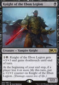 Knight of the Ebon Legion - Core Set 2020