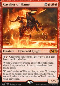Cavalier of Flame - Core Set 2020