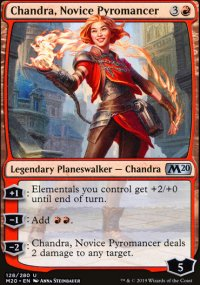 Chandra, Novice Pyromancer - Core Set 2020