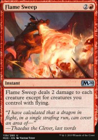 Flame Sweep - Core Set 2020