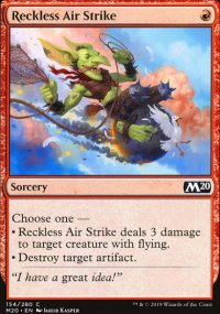 Reckless Air Strike - Core Set 2020