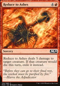Reduce to Ashes - Core Set 2020